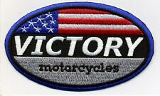 Victory Motorcycles rwb oval patch. 4 inch.New
