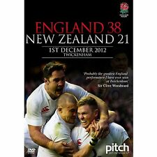 ENGLAND 38 NEW ZEALAND 21 1ST DECEMBER 2012 TWICKENHAM DVD NEW RUGBY UNION MATCH