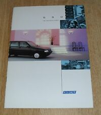 Fiat Uno Brochure 1993 Start 1.1 S FIRE 1.4 S Turbo IE