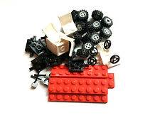 ☀️NEW LEGO Wheels and Axles Set  - tires hubs axles steering wheel seats shifter