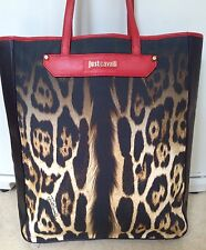 just cavalli bag Leopard Print Large Cavalli Tote