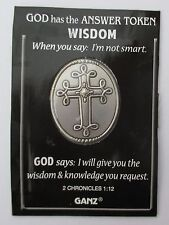 v I will give you WiSDOM knowledge request God Has Answer POCKET TOKEN COIN