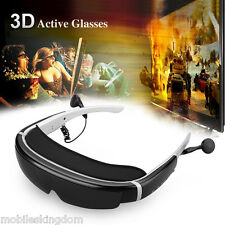 "98"" HD Virtual Digital Portable 3D Video Glasses 8GB AV IN Support 32GB TF Card"