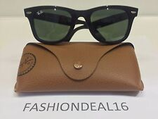 RayBan Authentic Wayfarer Black RB2140 901 50mm Sunglasses