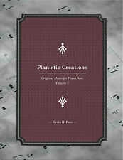 PIANISTIC CREATIONS: PIANO SOLOS Book 3. Sheet Music.  Kevin G. Pace