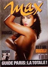 French MAX 1993: MONICA BELLUCCI sexy_DRACULA_WERNER SCHREYER_ANNE PARILLAUD