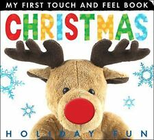 My First Touch and Feel: Christmas Holiday Fun by Tiger Tales Staff (2014,...
