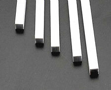 NEW Plastruct Square Rod Styrene 1/4x1/4x10  (5) 90810