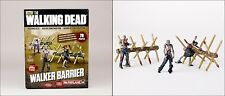 The walking dead série tv walker barrière building set figure McFARLANE