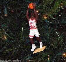 glen RICE miami HEAT basketball vtg NBA xmas ornament HOLIDAY vtg JERSEY #41