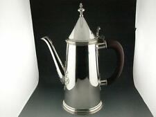 English Sterling Silver COFFEE POT Lighthouse form ~ London c1967