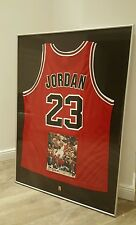 *TOP & RAR* Air Jordan Trikot mit orig. Autogramm gerahmt NBA Nike Chicago Bulls