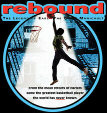 90's Basketball Classic Rebound The Legend of Earl Manigault custom tee Any Size