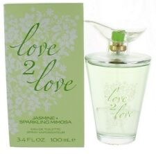 love 2 love Jasmine+Sparkling Mimosa by Coty for Women EDT Perfume Spray 3.4 NIB