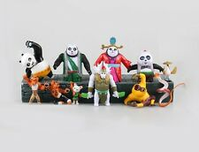 New Mcdonalds Kung Fu Panda Po Toys  Figures 11pcs Figure Set