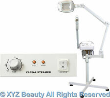 Aromatherapy Ozone Facial Steamer LED Magnifying Lamp Beauty Spa Salon Equipment