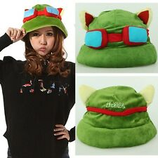 HOT Brand New Cosplay Fashion Army Green League of Legends LOL Teemo Game Hat