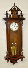 Antique Gustav Becker Two Weight Vienna Regulator Clock: T & S with ... Lot 180A