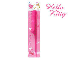 Hello Kitty Fine Tooth Hair Rat Tail Comb Pink Women Curling Style HK072 Plastic