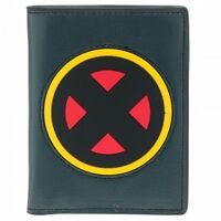 AWESOME MARVEL'S X-MEN 'X' AND INSIDE COMIC PRINT WALLET *BRAND NEW*