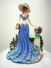 Garden of Prayer Ladies of the Garden Figurine Thomas Kinkade Bradford Exchange