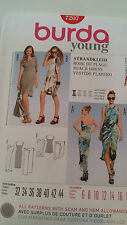Burda 7207  Ladies dress  making pattern.  Beach dress