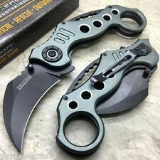 Tac-Force Karambit Style Spring Assisted Rescue Tactical Pocket Knife TF-578GY