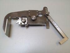 Messgerät für Spurkranzdicke, Spurkranzhöhe, qR-Maßund Radreifen-/Radkranzdicke