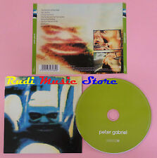 CD PETER GABRIEL Omonimo 2011 eu REALWORLD 5099973070320  lp mc dvd vhs