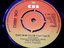 "JOHNNY NASH - TEARS ON MY PILLOW    7"" VINYL"