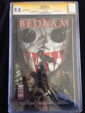 Bedlam #1 CGC 9.8 Signed By Nick Spencer Detroit Fanfare 2012 Exclusive