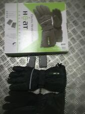 Electric battery powered heated gloves very warm size Large in presentation box