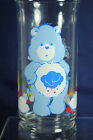 Vintage Grumpy Bear Care Bears Glass Promotional 1983 Pizza Hut Collectible