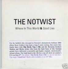 (640I) The Notwist, Where In This World - DJ CD