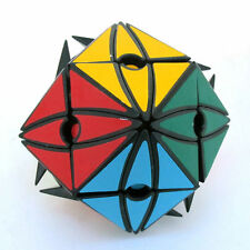 Yongjun MoYu MoYan II black Devil's Eyes No.2 12-Sided Magic Cube Twist Puzzl #k