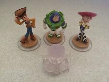 *COMPLETE SET* TOY STORY Disney Infinity 1.0  Playset - Buzz Woody Jessie
