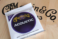 Martin M175 Traditional 80/20 Bronze Custom Light Acoustic Guitar Strings 11 to