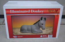 """***NEW*** 18"""" Donkey Blow Mold Lighted Nativity Christmas Outdoors Blowmold"""