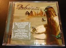 "New! DELERIUM ""Nuages Du Monde"" (CD 2006) Thirsk/Hawkshaw *SEALED* w/small crack"