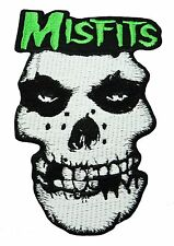 MISFITS Punk Rock Music Band Embroidered Easy Iron/Sew Patch NEW FREE SHIPPING