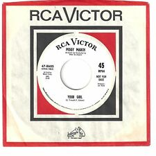 PEGGY MARCH  Northern 45  Your Girl / Let He Go  (promo) - NM