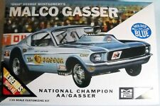 MPC  Ohio George Malco Gasser 1967 Mustang model kit 1/25 blue color body