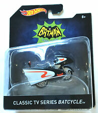 2015 HOT WHEELS BATMAN,CLASSIC TV SERIES BATCYCLE NEW