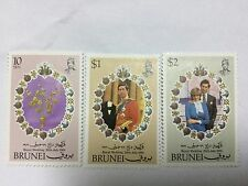 Brunei Stamps Complete Set BR 63. Mint Hinged