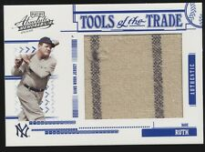 2005 Playoff Absolute Babe Ruth TOTT Jumbo Jersey w/ Pinstripes 13/95