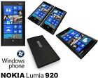 New Nokia Lumia 920 32 GB Black Unlocked Windows Mobile Phone Smartphone LTE