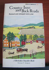 Country Inns and Back Roads of North America by Simpson 1979 PB 14th annual ed