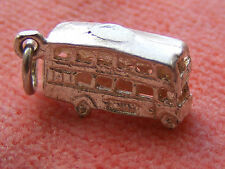CHIM VINTAGE STERLING SILVER CHARM LONDON DOUBLE DECKER BUS