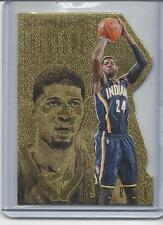 PAUL GEORGE 2013-14 PANINI INTRIGUE INTRIGUING PLAYERS GOLD DIE CUT #D 3/10