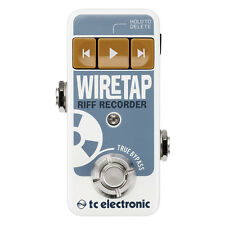 TC Electronic WireTap Riff Recorder Bluetooth Stompbox Guitar Effects Pedal